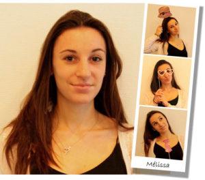 Mélissa, chargée de communication
