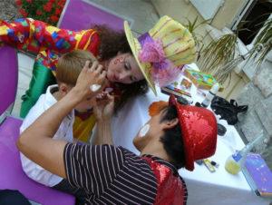 Maquillage animation enfants