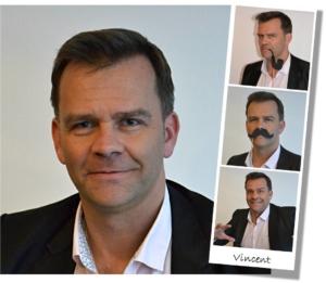 Vincent fondateur de l'agence