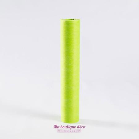 chemin de table intisse vert