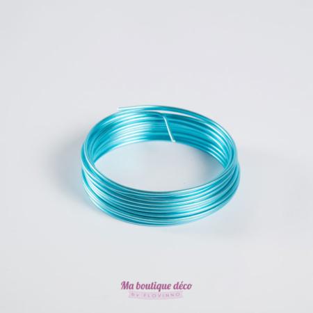 fil aluminium turquoise