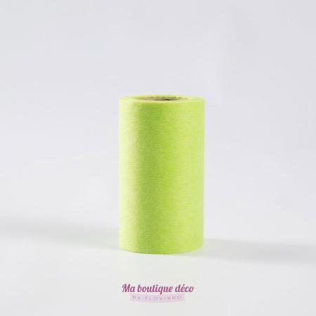 ruban large intissé vert