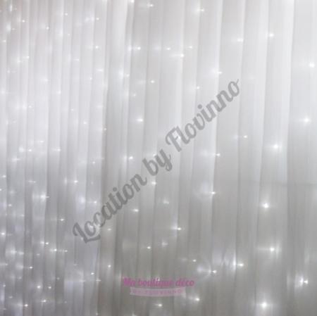 location rideau lumineux à led