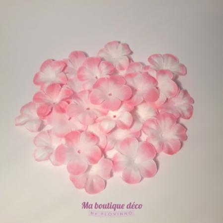 fleurs à jeter roses