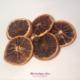 tranches d'orange séchées