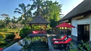 Piscine privée à Bali