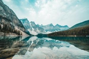 Paysage montagne au Canada