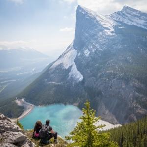 Randonnée à deux au Canada