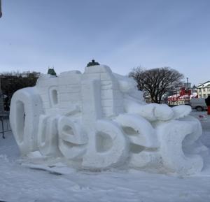 Québec glace
